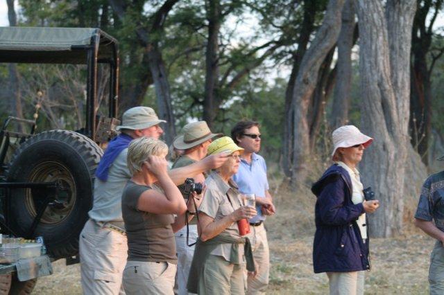 People On Safari